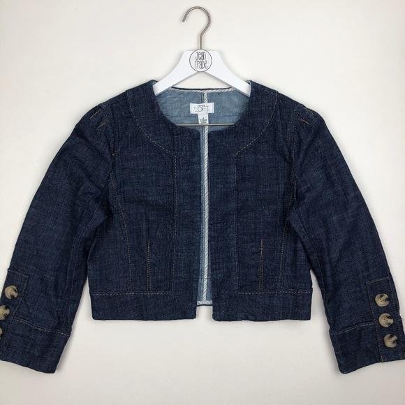 Ann Taylor Loft Jackets & Blazers - Ann Taylor Loft Open Front Cropped Jacket